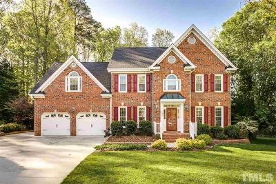 Wake County Single Family Home For Sale: 9401 Floral Ridge Court