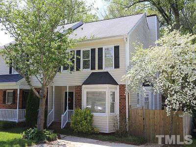 Raleigh Townhouse For Sale: 7223 Wilderness Road