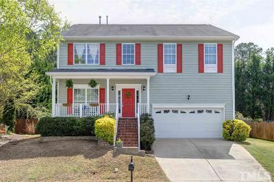Apex Single Family Home Contingent: 2203 Pilot Mountain Court