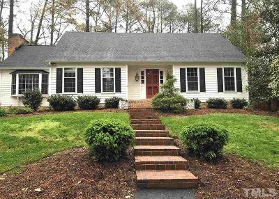 Durham County Single Family Home For Sale: 3521 Cambridge Road