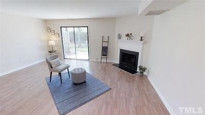 Durham Townhouse For Sale: 1507 Clermont Road #T21