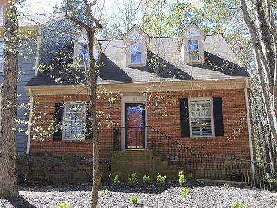 Wake County Townhouse For Sale: 536 Weathergreen Drive