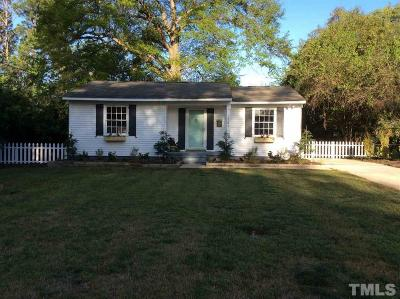 Raleigh Single Family Home For Sale: 1149 Brighton Road
