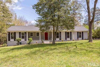 Durham Single Family Home For Sale: 5340 Yardley Terrace
