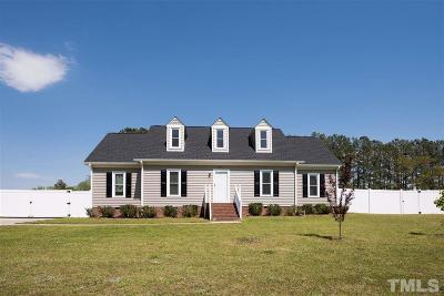 Willow Spring(S) NC Single Family Home For Sale: $230,000