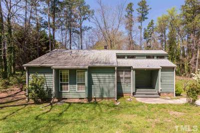 Wake County Single Family Home For Sale