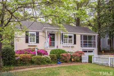 Wake County Single Family Home For Sale: 2506 Van Dyke Avenue