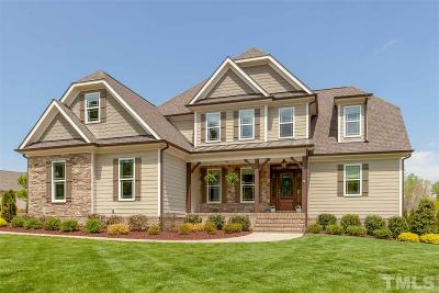 Wake Forest Single Family Home For Sale: 7305 Barham Hollow Drive