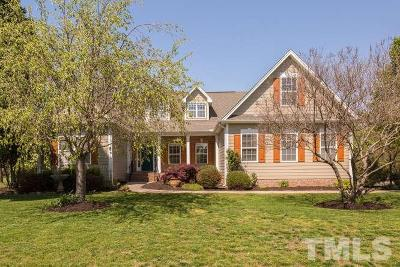 Wake Forest Single Family Home For Sale: 390 Barnhill Lane