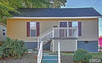 Durham Single Family Home For Sale: 919 N Elizabeth Street