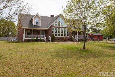 Johnston County Single Family Home For Sale: 140 Hardy Road