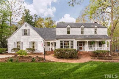 Wake County Single Family Home For Sale: 905 Brookfield Road