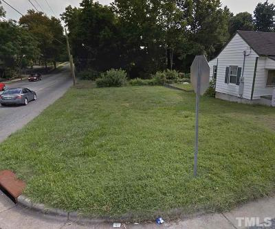 Durham County Residential Lots & Land For Sale: 806 Juniper Street