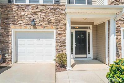 Wake Forest Townhouse For Sale: 4303 Iyar Way