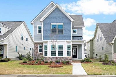 Apex Single Family Home Contingent: 2816 Haw River Trail