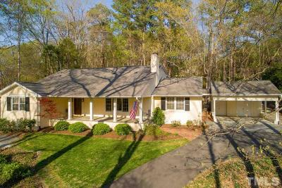 Chapel Hill Single Family Home For Sale: 609 Sugarberry Road