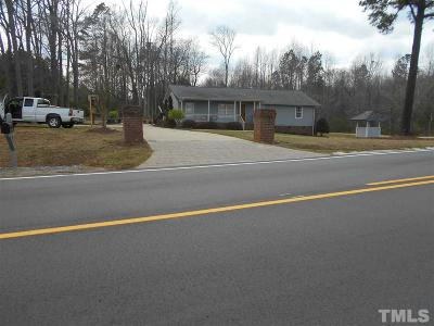 Single Family Home For Sale: 9635 Nc 39 Highway
