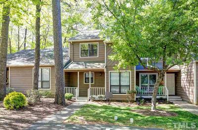 Wake County Townhouse For Sale: 622 Applecross Drive