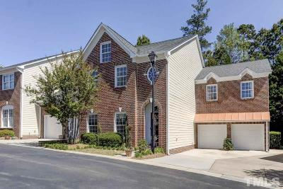 Raleigh Townhouse For Sale: 206 Royal Kings Lane