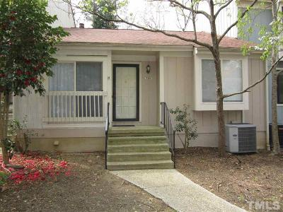 Raleigh Townhouse Contingent: 704 Green Ridge Drive