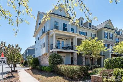 Wake County Townhouse For Sale: 1329 Rembrandt Circle
