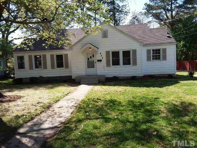 Garner Single Family Home Pending: 108 St Marys Street