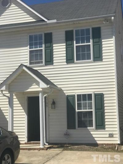 Raleigh NC Townhouse For Sale: $130,000