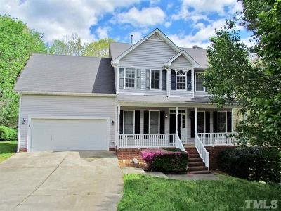 Wake Forest Single Family Home Contingent: 9524 White Carriage Drive