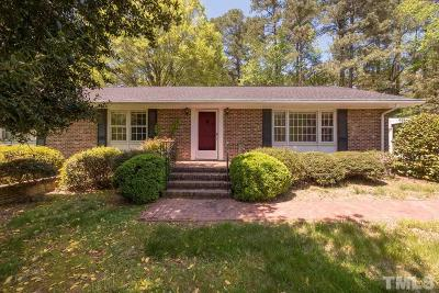 Chapel Hill Single Family Home For Sale: 1009 Hillside Drive