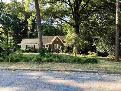 Raleigh Single Family Home For Sale: 2502 Mayview Road