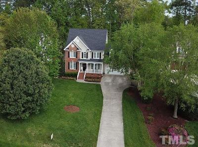Wake County Single Family Home For Sale: 3413 La Costa Way