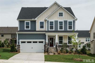 Raleigh Single Family Home Pending: 8241 Pritchett Farm Lane