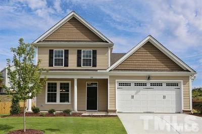 Knightdale Single Family Home For Sale: 1205 Jamison Pond Drive