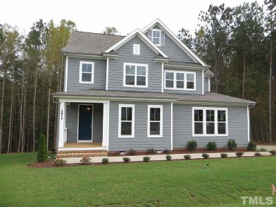 Apex Single Family Home For Sale: 3617 Hickory Manor Drive #Lot 16