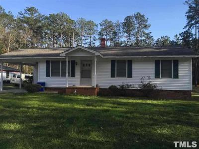Johnston County Single Family Home For Sale: 1604 Meadow Road