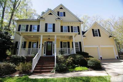 Raleigh Single Family Home For Sale: 10833 Grassy Creek Place