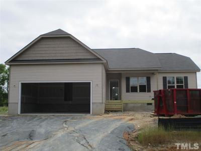 Johnston County Single Family Home For Sale: 46 Stone Bank Circle