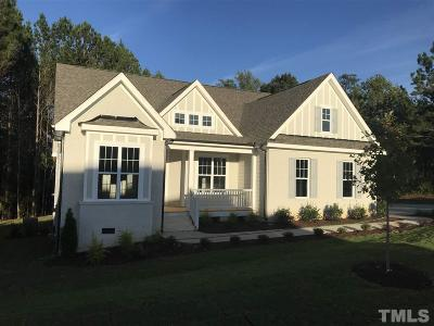 Apex Single Family Home For Sale: 3621 Hickory Manor Drive #Lot 17