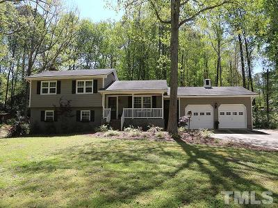 Raleigh Single Family Home Contingent: 6004 Spring Valley Drive
