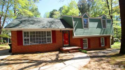 Durham Single Family Home For Sale: 5841 Sandstone Drive