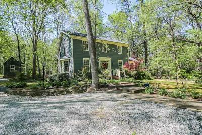 Chapel Hill Single Family Home For Sale: 219 Longwood Drive