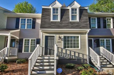 Raleigh Townhouse For Sale: 2502 Noble Road
