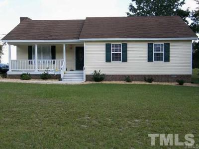 Johnston County Single Family Home For Sale: 7616 Buffalo Road