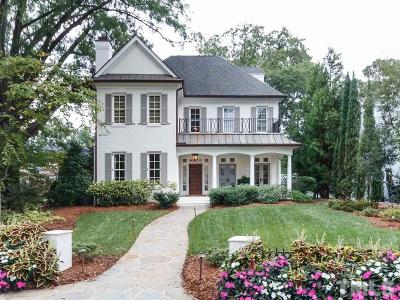 Raleigh NC Single Family Home For Sale: $1,699,000