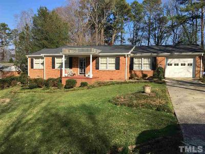 Single Family Home For Sale: 4112 Spruce Drive