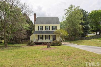 Wake Forest NC Single Family Home For Sale: $223,500