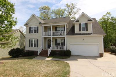 Clayton Single Family Home For Sale: 404 Nelson Lane