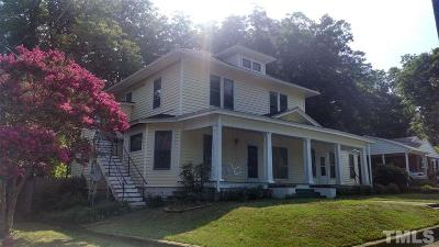 Oxford Single Family Home For Sale: 201 Belle Street