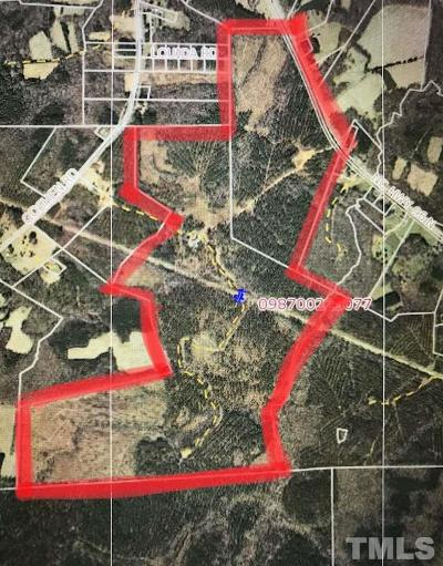 Granville County Residential Lots & Land Contingent: 7651 N Nc 96 Highway