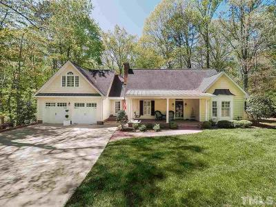 Raleigh NC Single Family Home For Sale: $499,000